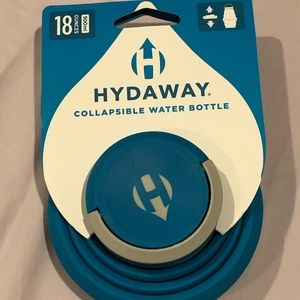 Hydaway collapsible water bottle, 18oz. Brand New!